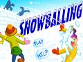 Snowballing - Bulgareala (Bataie cu bulgari de zapada)